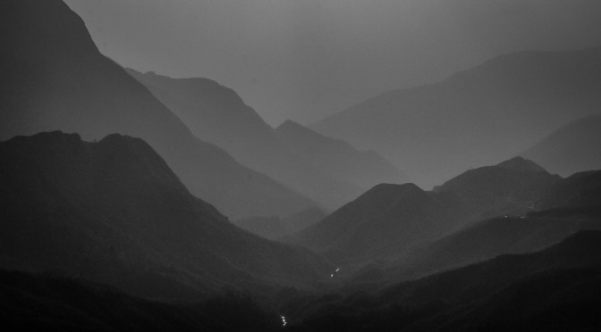 Silhouette of Sapa: en route